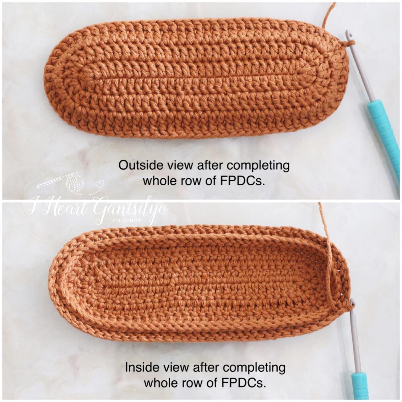 Basketweave Stitch Pouch | I Heart Gantsilyo