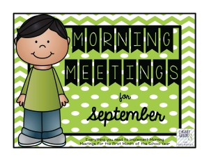 September Morning Meetings