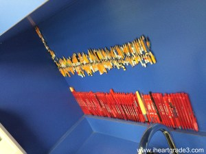 Miss Monica's Pencil Wall of Fame