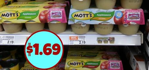 Motts applesauce coupons