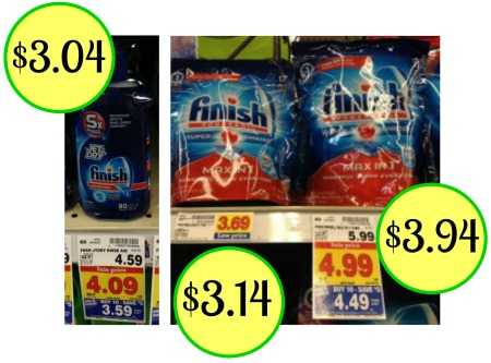 New Finish Dishwasher Detergent And Jet Dry Coupons