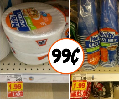 hefty-foam-plates-bowls-or-cups-as-low- & hefty cups I Heart Kroger