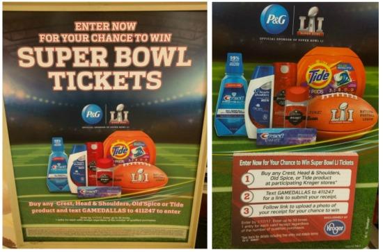 Super bowl ticket giveaway