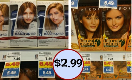 New Clairol Coupon - Hair Color As Low As $2.99 At Kroger