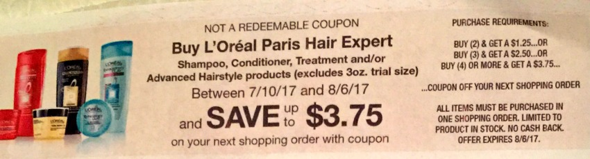 New L'Oreal Paris Hair Expert Catalina – Shampoo or Conditioner As Low As $1.37 At Kroger