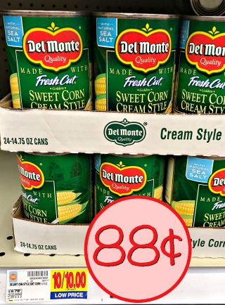 Del Monte Canned Vegetables Just 88 At Kroger