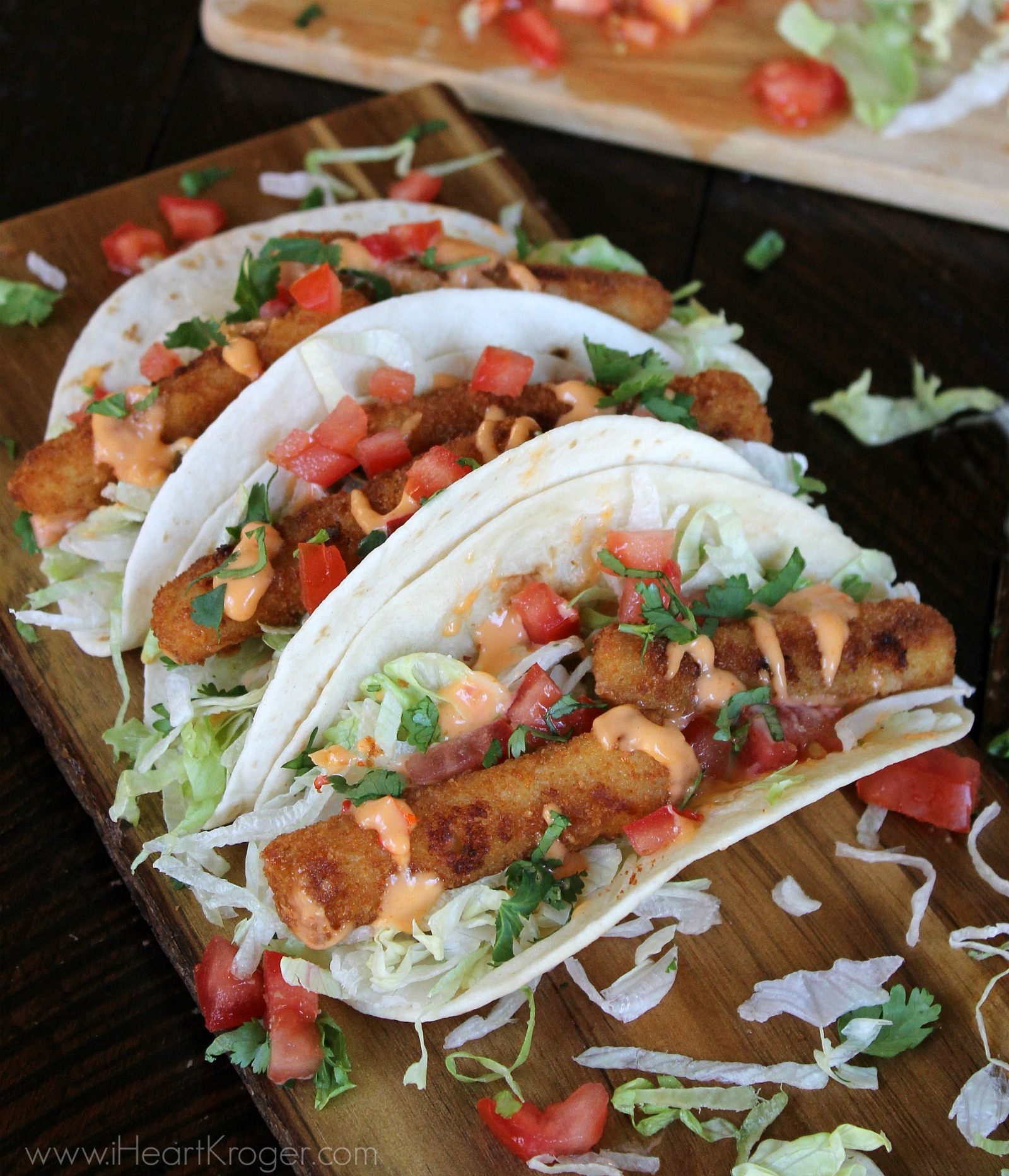 I heart kroger for Easy fish tacos recipe