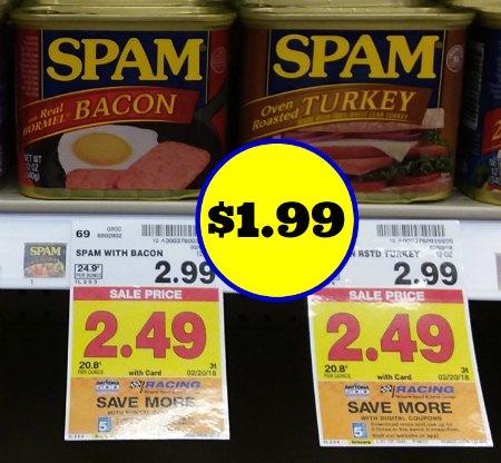 Spam printable coupon 2018