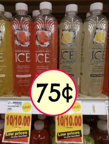 load your sparkling ice coupons and head over to kroger pair those coupons with the low price at kroger and stock up on your favorite flavors at a nice
