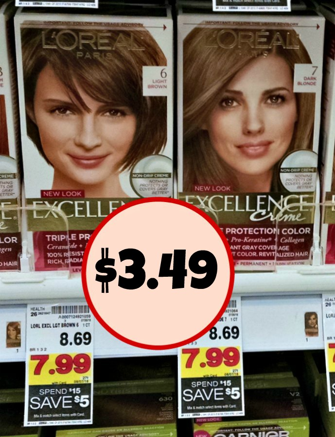 New Loreal Hair Color Coupon As Low As 349 At Kroger