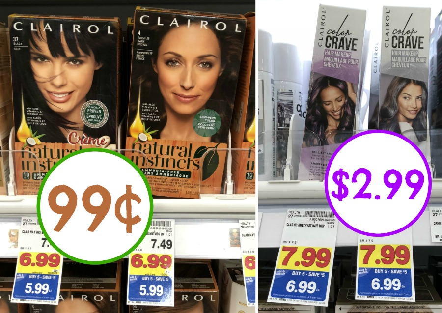 New Clairol Hair Color Coupons Natural Instincts Just 99 At Kroger