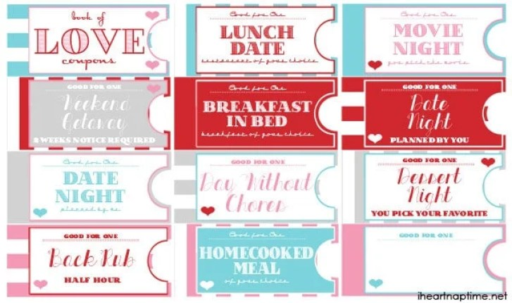 Printable Coupon Book