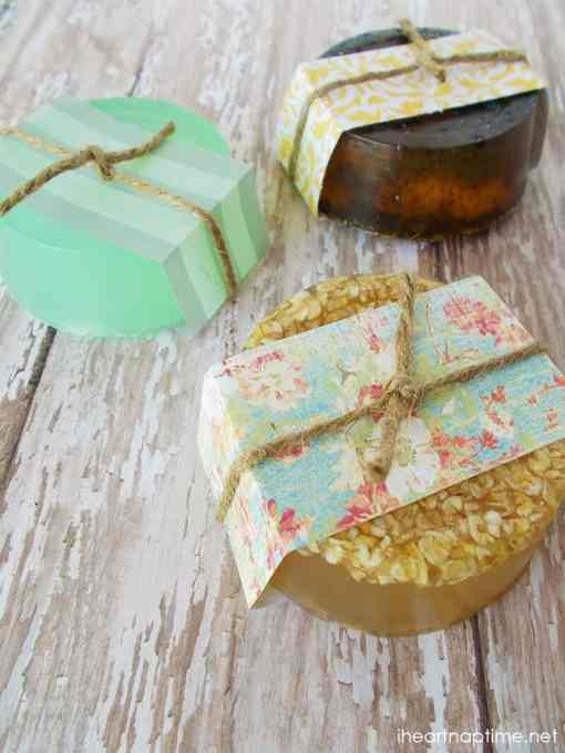 Homemade Hand Soaps