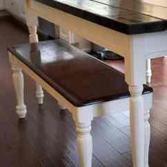Farmhouse Kitchen Tables Cabinet Home Depot Diy Table I Heart Nap Time On Iheartnaptime Com