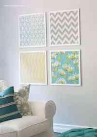 DIY fabric art - I Heart Nap Time