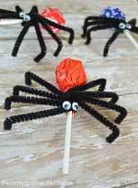 Pipe Cleaner Spider Craft | www.pixshark.com - Images ...