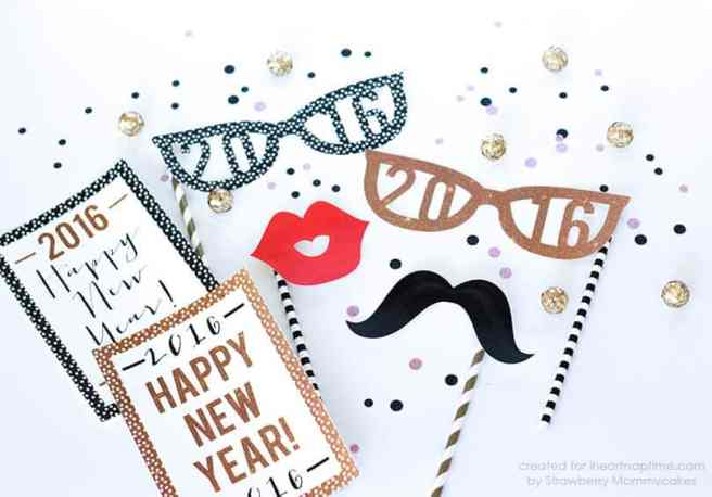Printable New Year's Eve Collection via Mandy's Party Printables by I heart naptime.