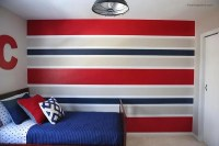 How to paint perfect striped walls - I Heart Nap Time