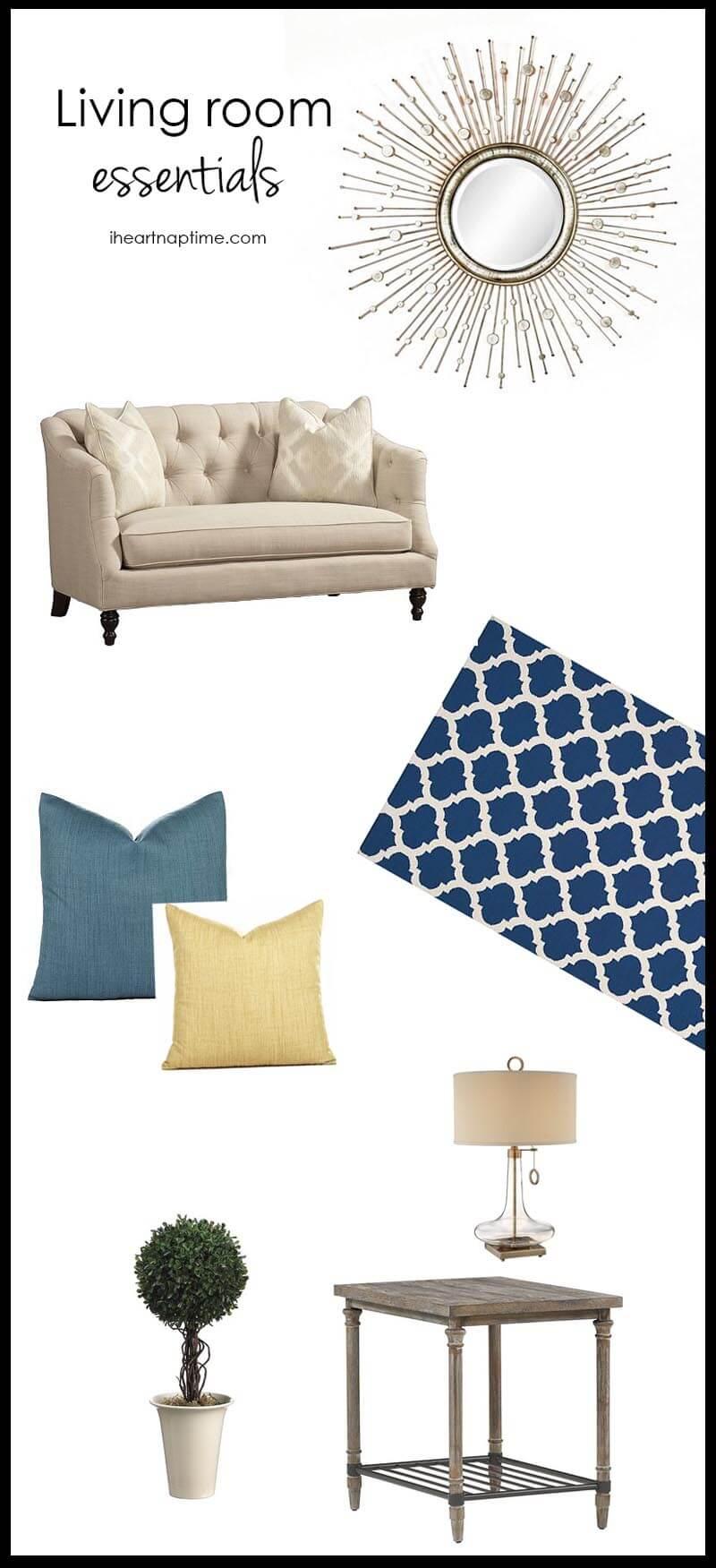 Living Room Essentials List