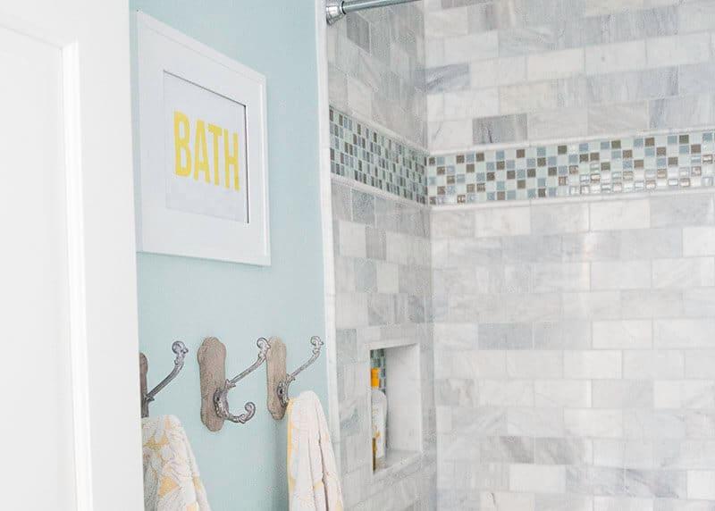 Bathroom Decor Yellow