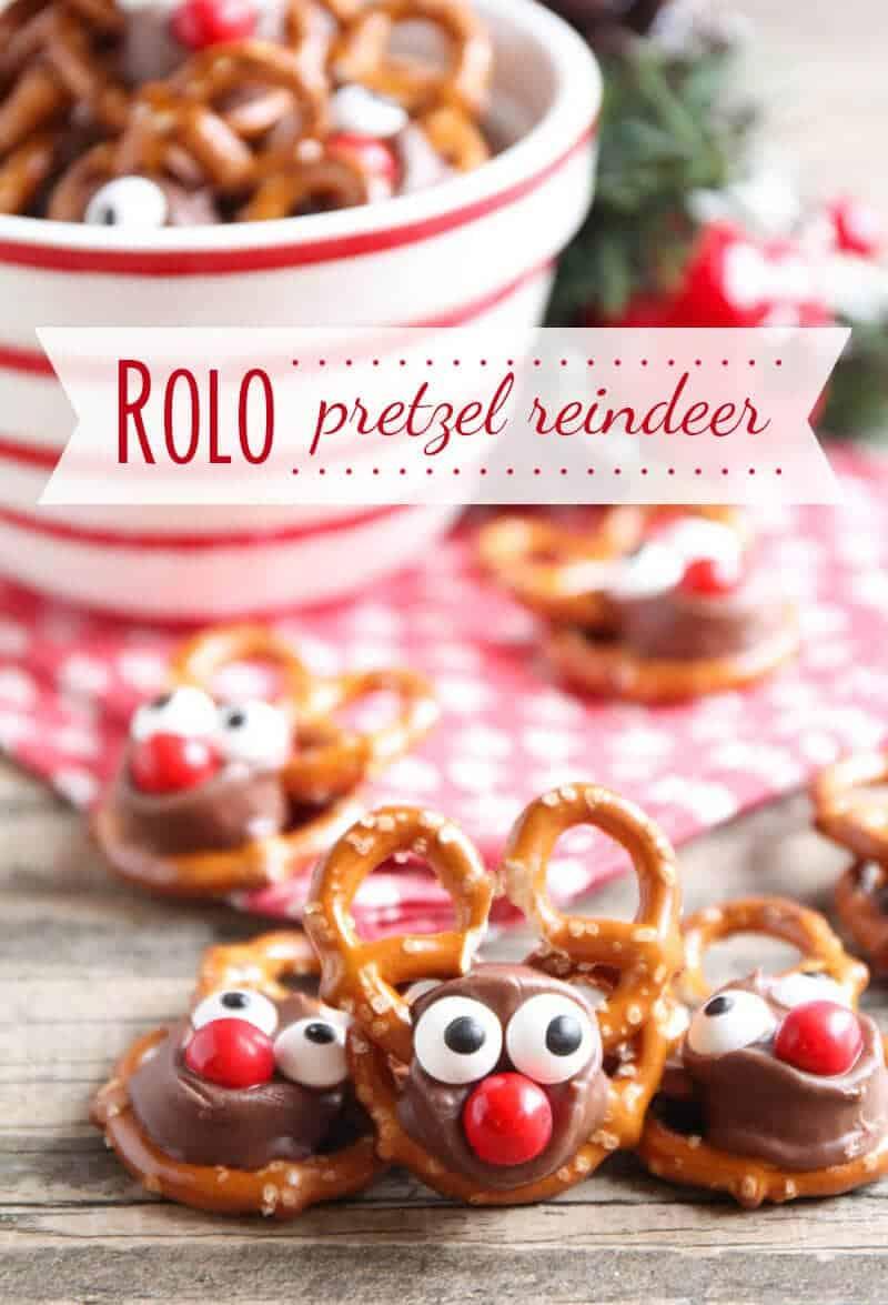 Rolo Pretzel Reindeer I Heart Nap Time