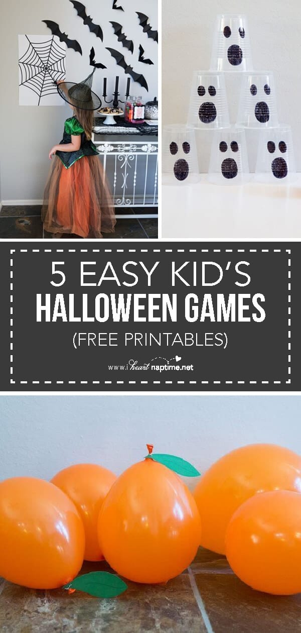 free halloween party games printables # 47