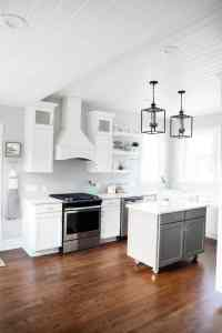 Modern farmhouse kitchen - I Heart Nap Time