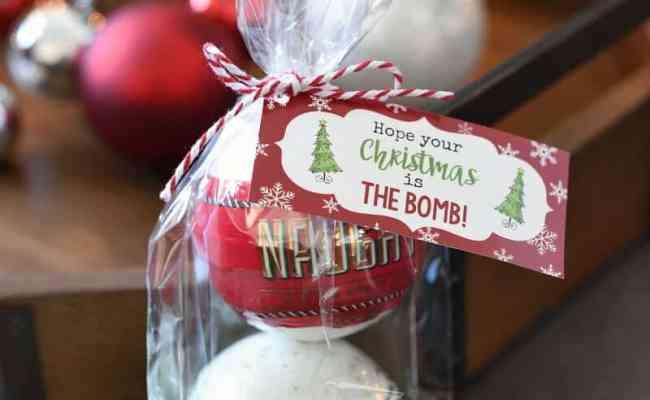 Christmas Bath Bombs I Heart Nap Time