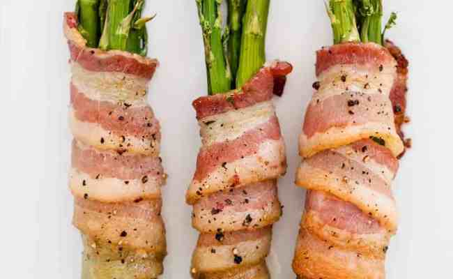 Easy Bacon Wrapped Asparagus Only 20 Minutes I Heart