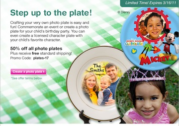 email 2 Great Deal On Photo Plates At SeeHere