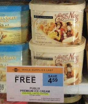 publix ice cream1 Deals From My Inbox   Free Cascadian Farms, Tuna & More