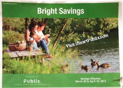 publix bright savings adv Publix Grocery Advantage Buy Flyer Bright Savings (3/30 to 4/19)