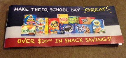 SchoolDays Coupons copy New Booklet Found At Publix   Make Their School Day Great