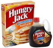 Great Deal On Hungry Jack Pancake Mix & Syrup