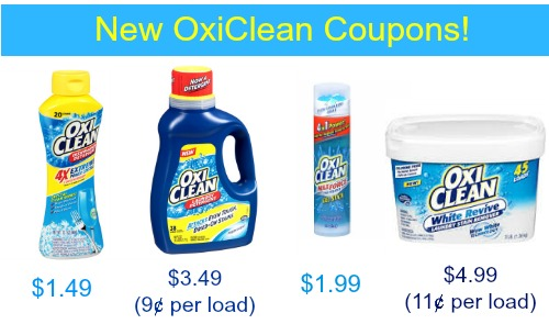 COUPONS COM OXICLEAN