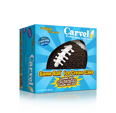 Just In Time For Game Day Carvel Game Ball Cakes Now