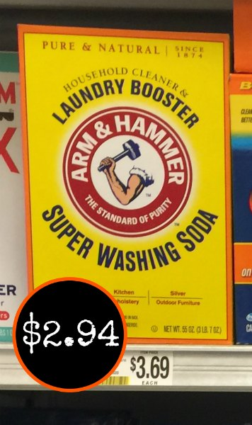 Where Can I Buy Arm And Hammer Washing Soda