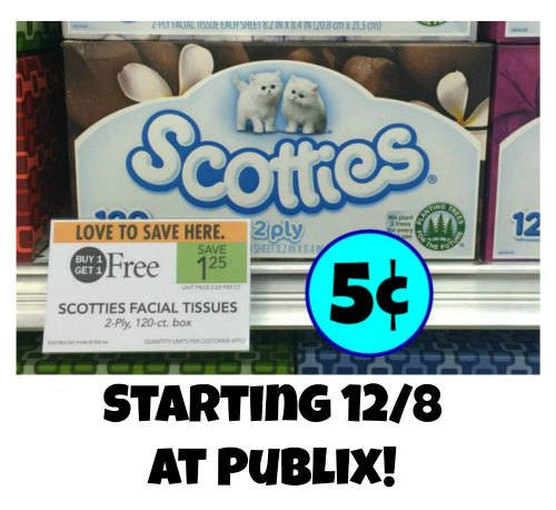 Upcoming Scotties Facial Tissues Deal As Low As 5 At Publix
