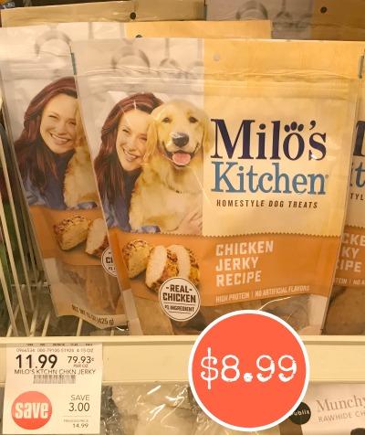 milos kitchen jeffrey alexander island milo s homestyle dog treats only 8 99 at publix save 6