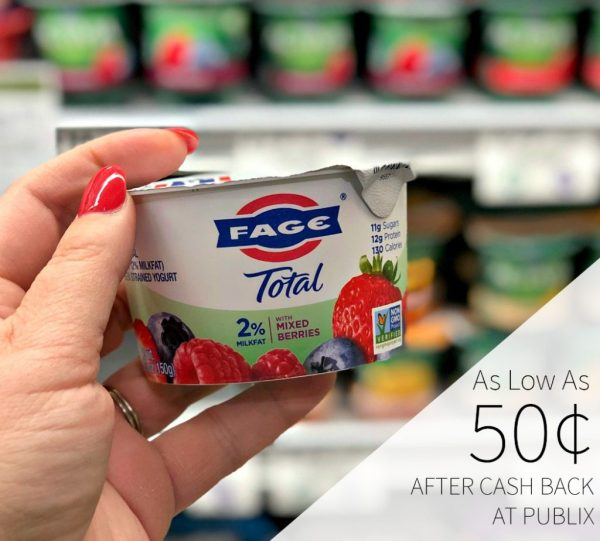 Fage Greek Yogurt 50 Publix