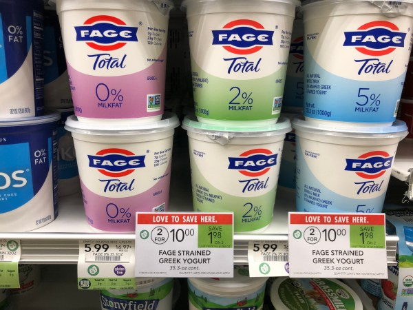 Big Tub Of Fage Greek Strained Yogurt 4 Publix