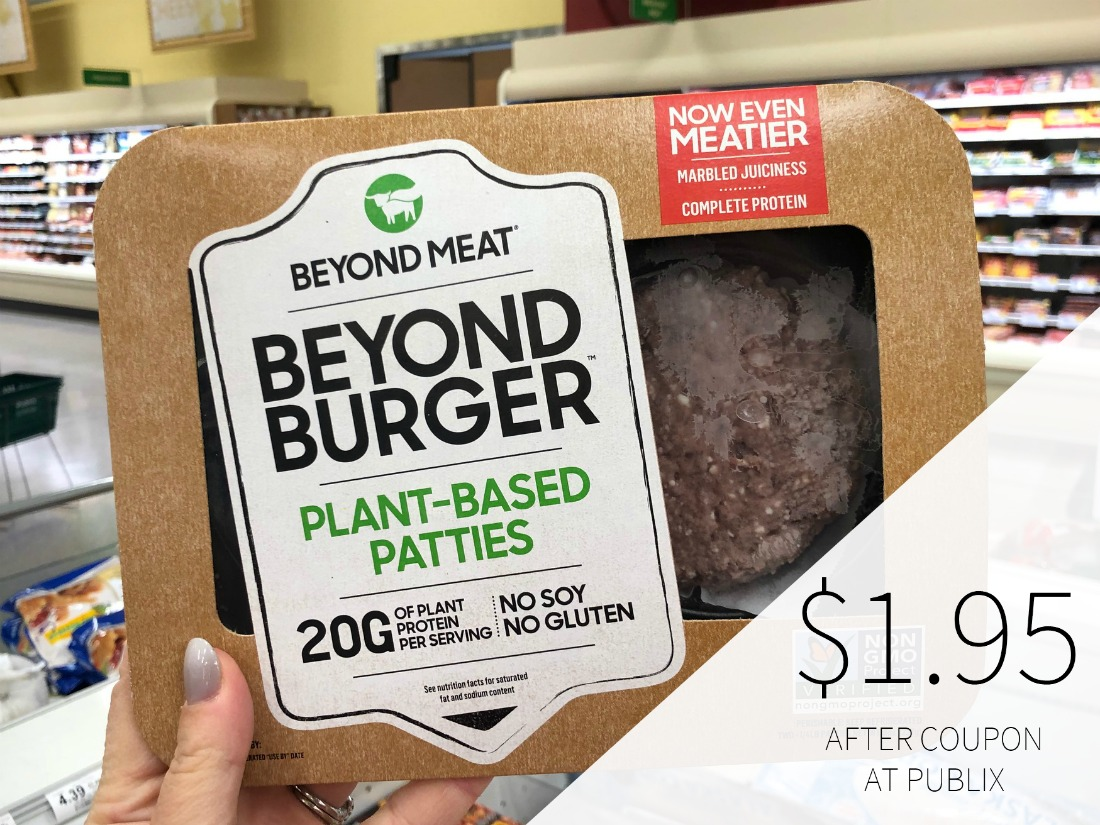 Beyond Meat The Beyond Burger Just $1.95 At Publix