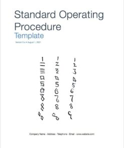 Configuration Management Plan Template (MS Word