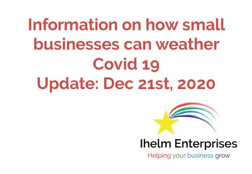 Ihelm Enterprises Covid 19 Updates Dec 21