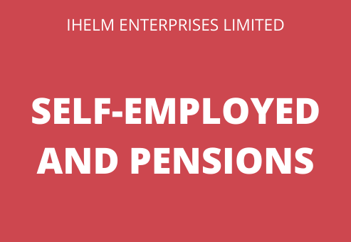 self-employed and private pensions