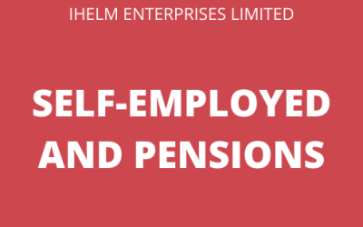 Pensions and Being Self-Employed