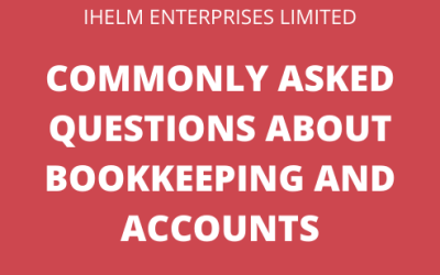 Answering Commonly Asked Questions about Bookkeeping and Accounts