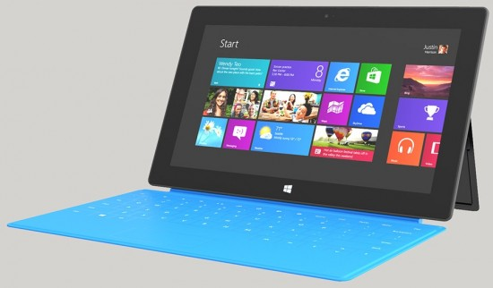 Microsoft Surface WithWindows RT