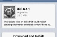Apple Releases iOS update to fix 3G issues for iPhone 4S