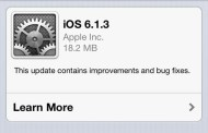 Apple launched iOS 6.1.three - Jailbreak
